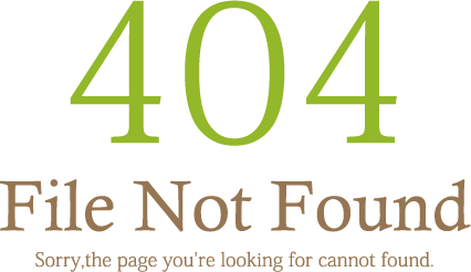 404 File Not Found Sorry, the page you're looking for cannot found.